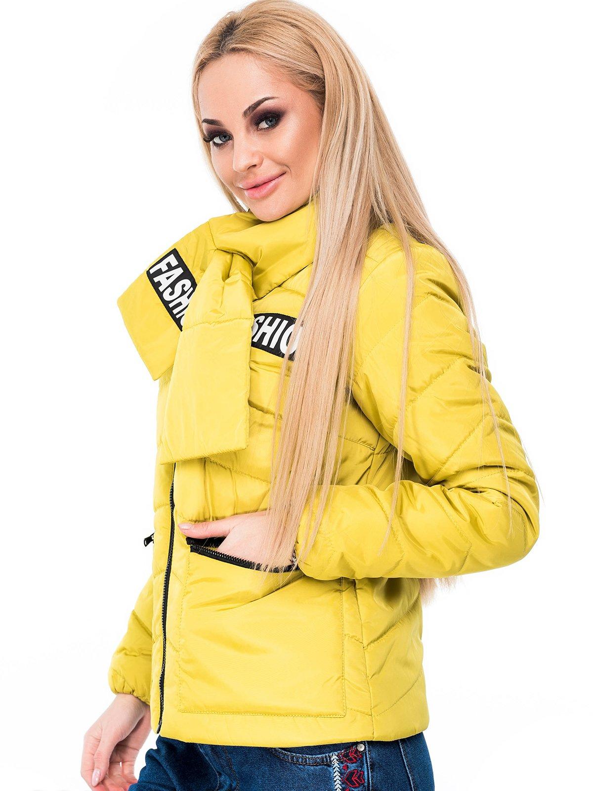 Куртка оливкового кольору | 3977483