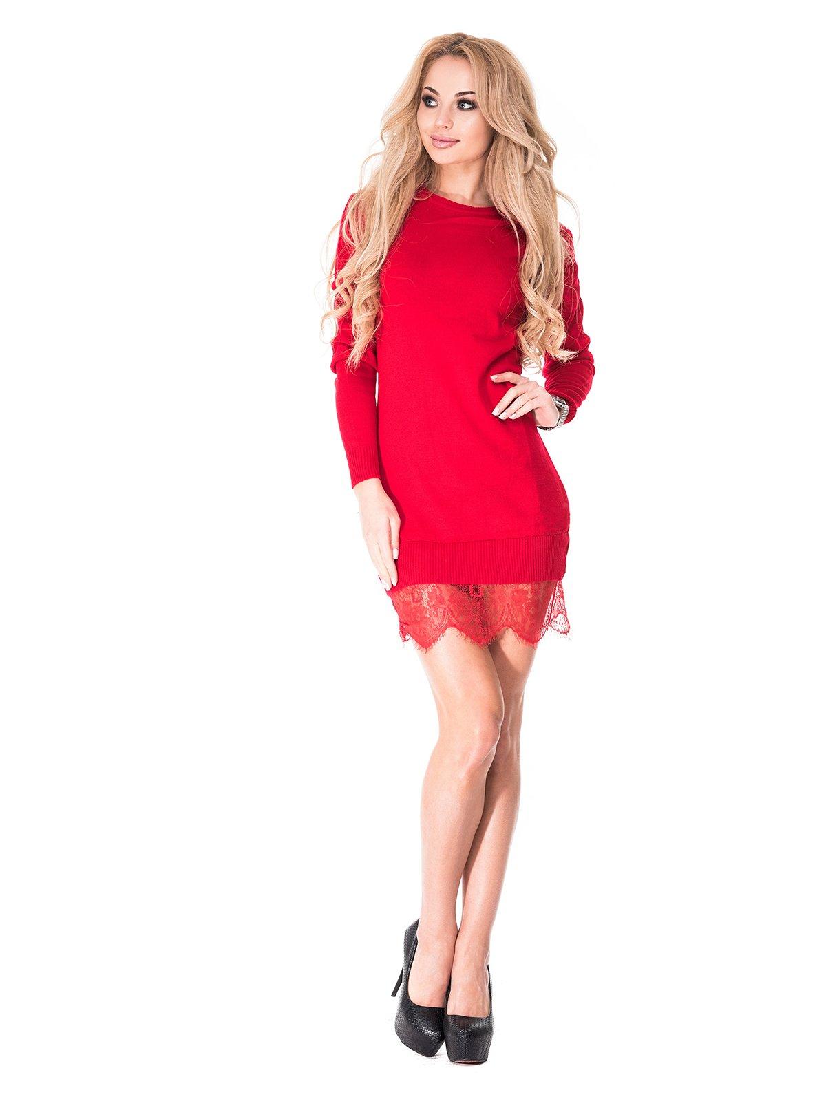 Платье красное | 3977505