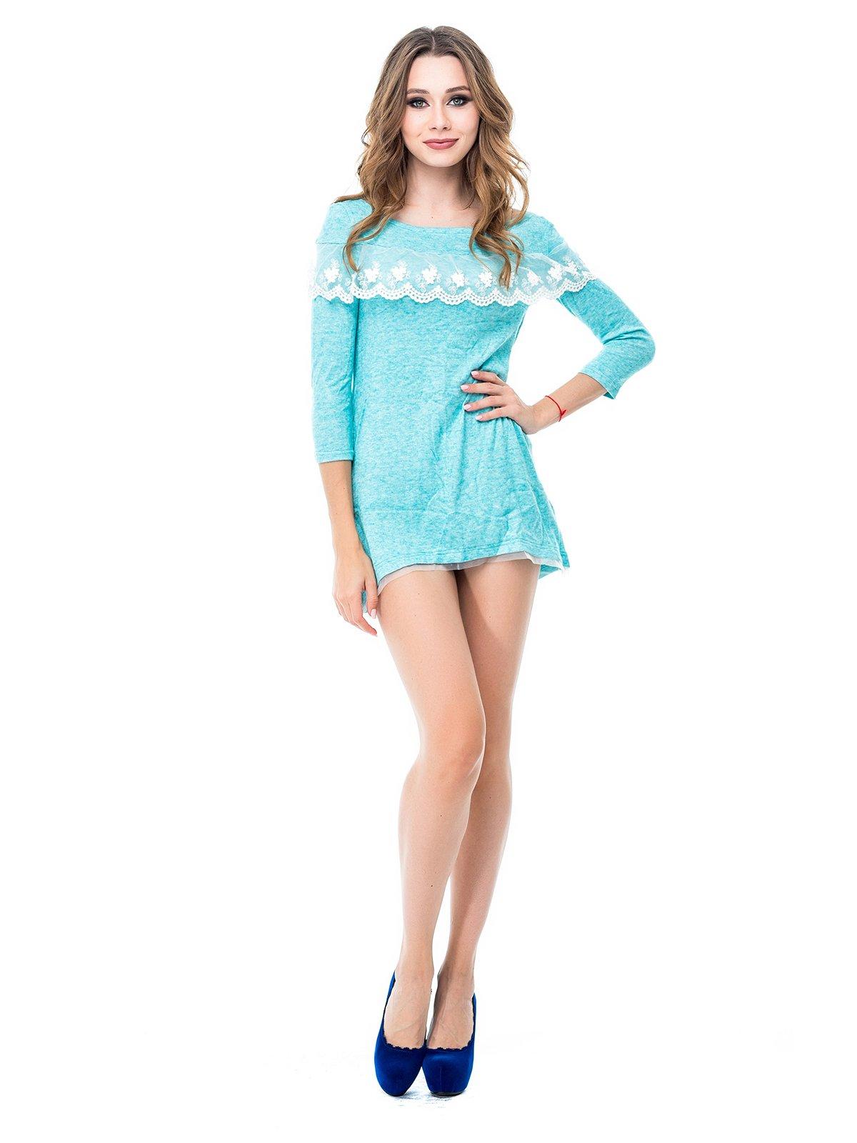 Платье мятного цвета   3977616