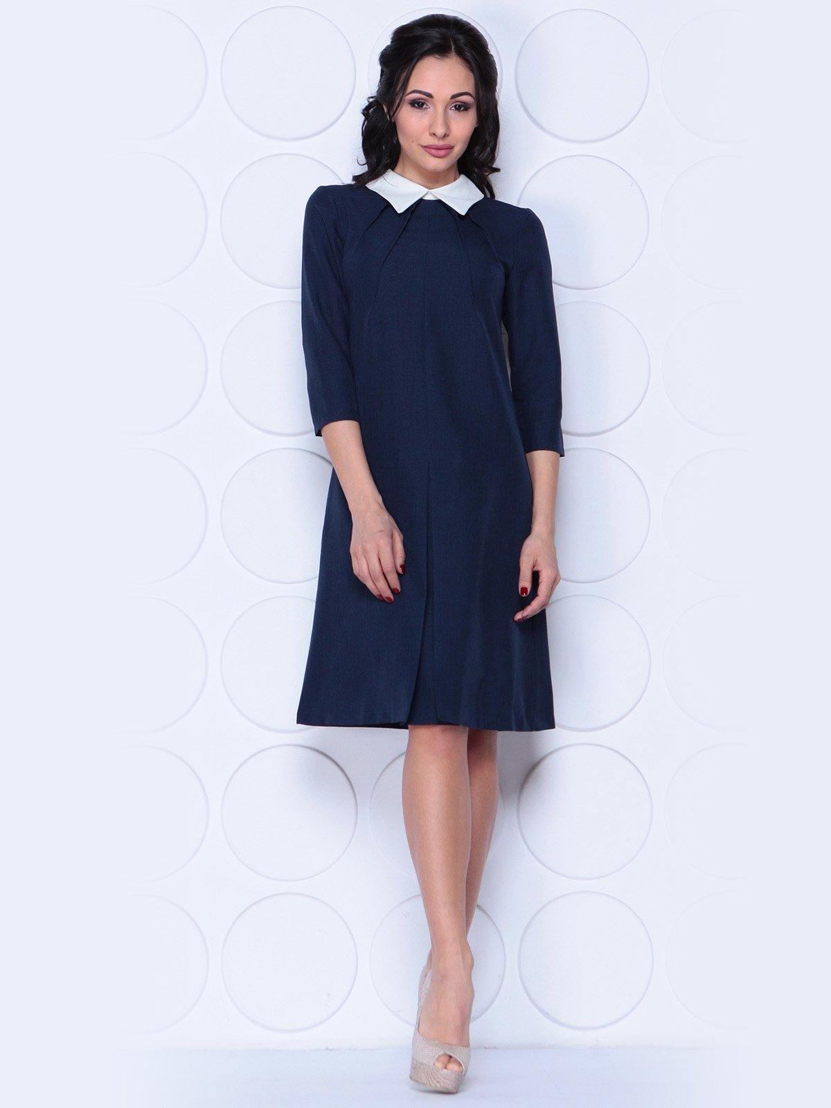 Платье темно-синее | 3983836