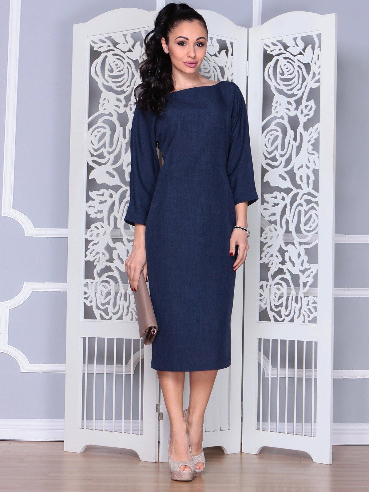Сукня темно-синя   3983849