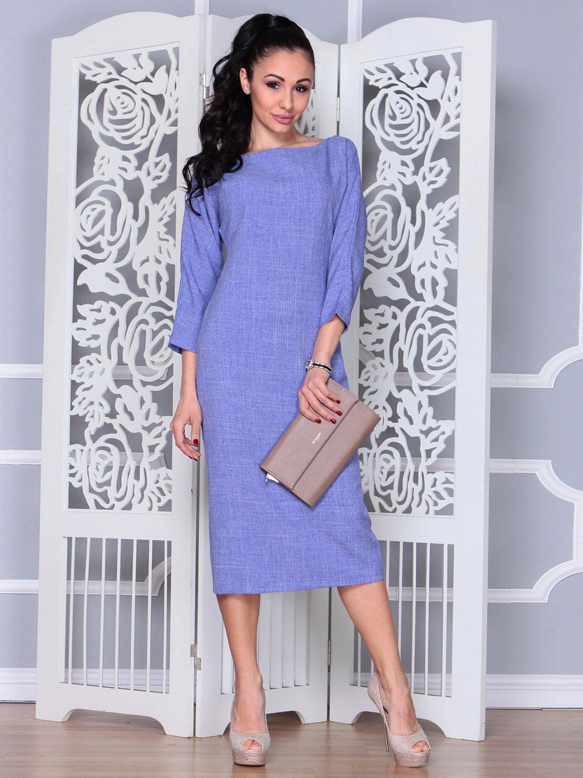 Платье фиолетовое   3983850