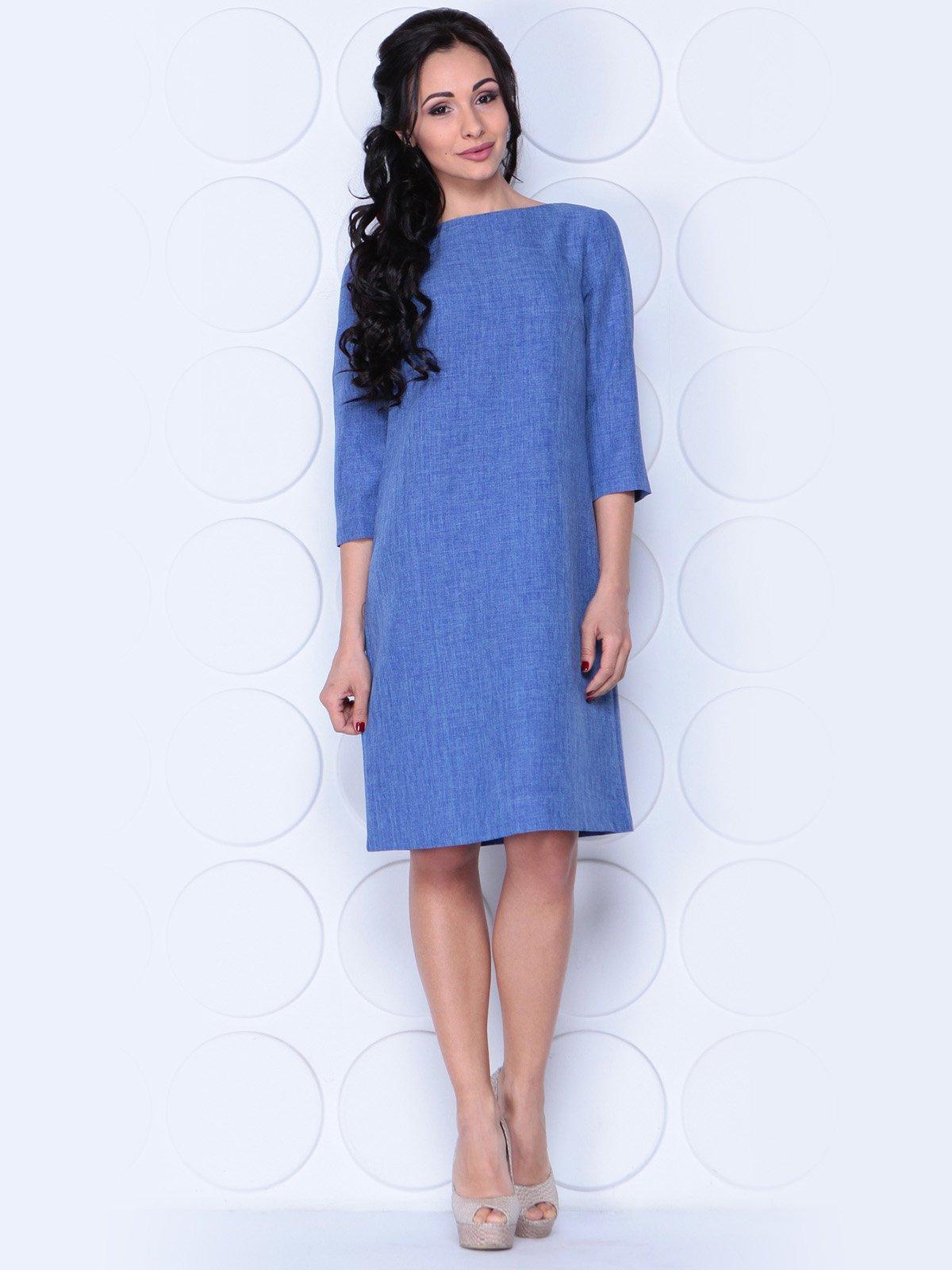Платье синее | 3983851
