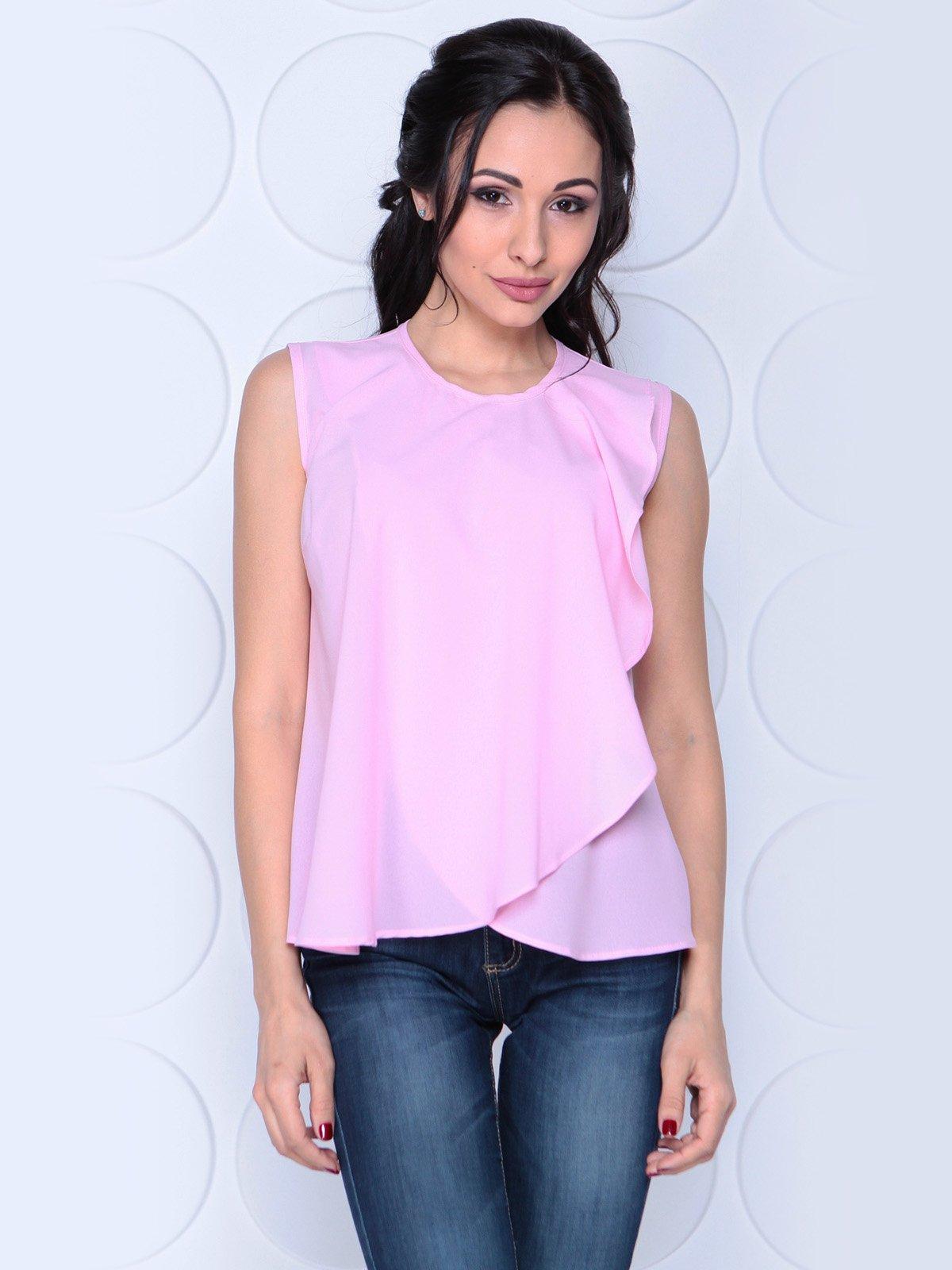 Блуза ніжно-рожева | 3983854