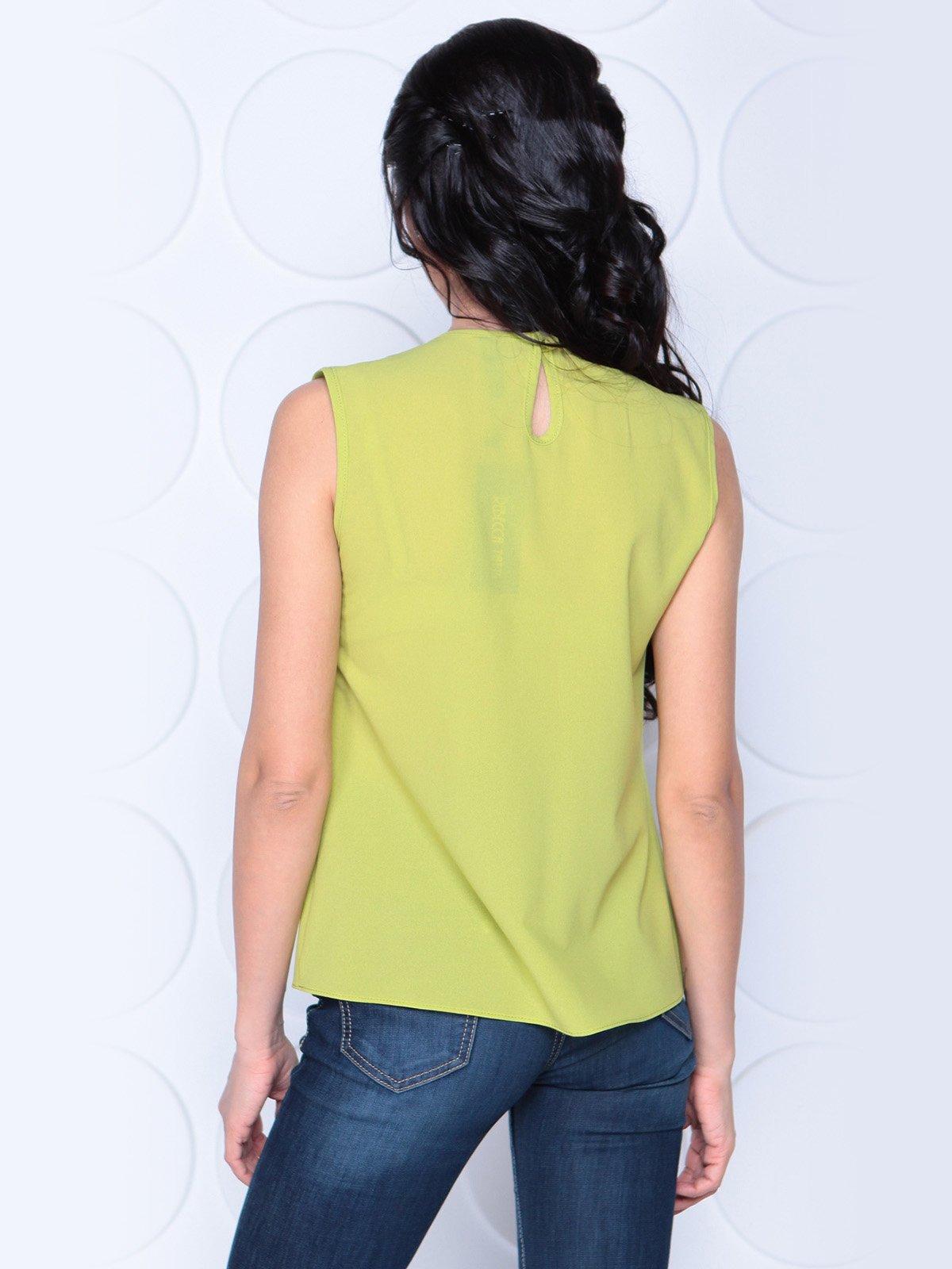 Блуза яблочного цвета | 3983855 | фото 2