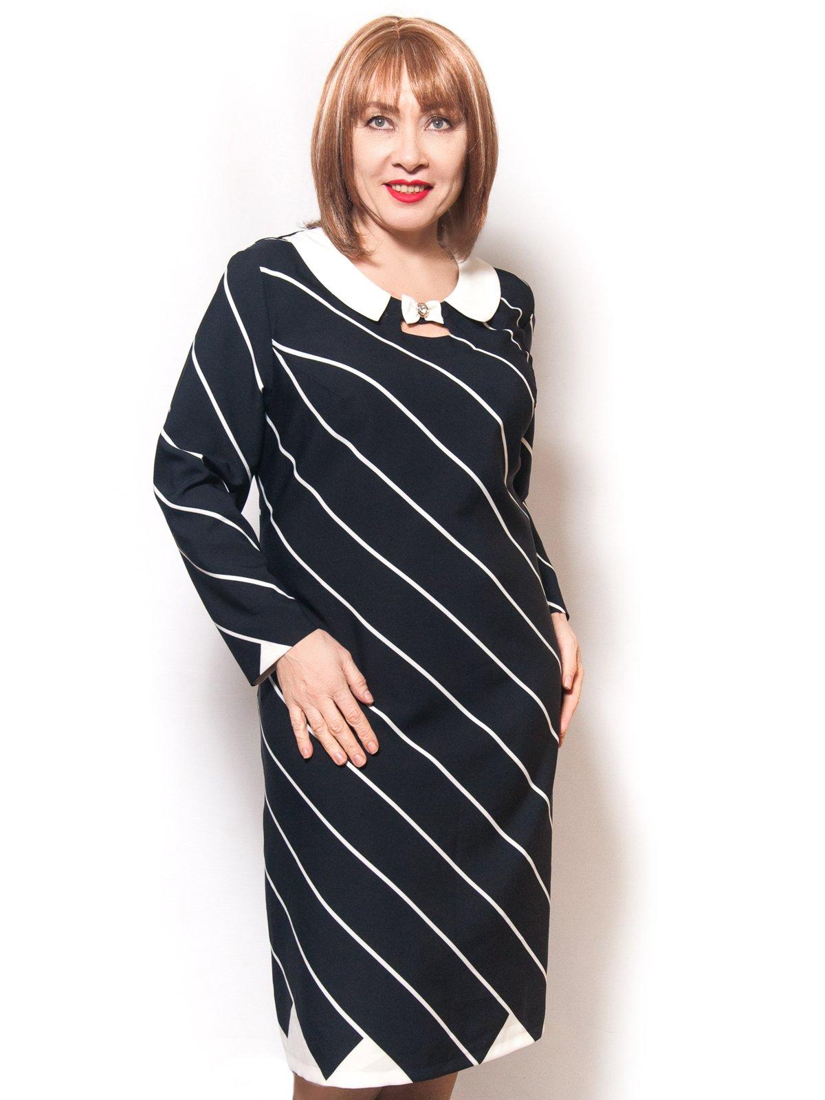 Платье в полоску | 3992125