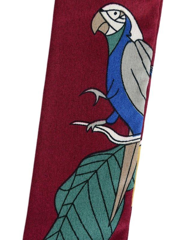 Шарф-краватка бордовий | 3989506 | фото 4