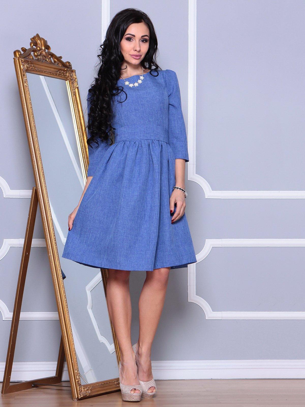 Платье синее | 3993181