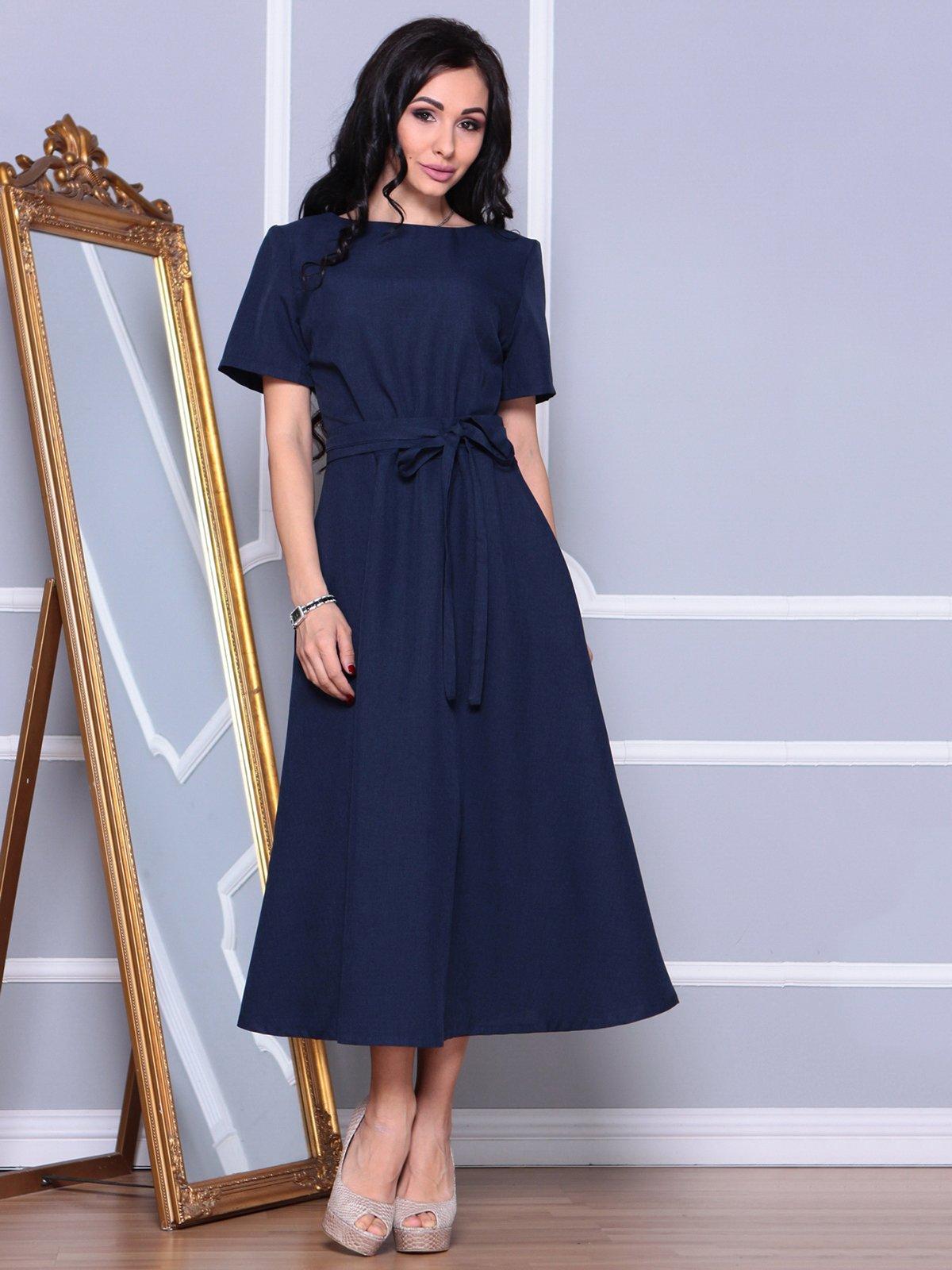 Сукня темно-синя | 3993182