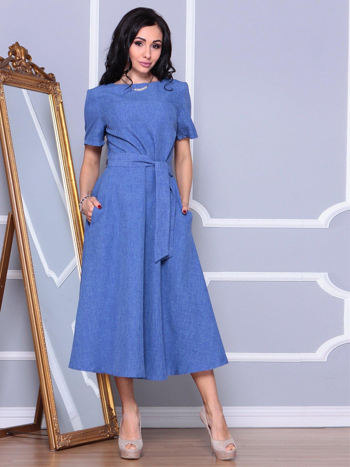 Платье синее | 3993183