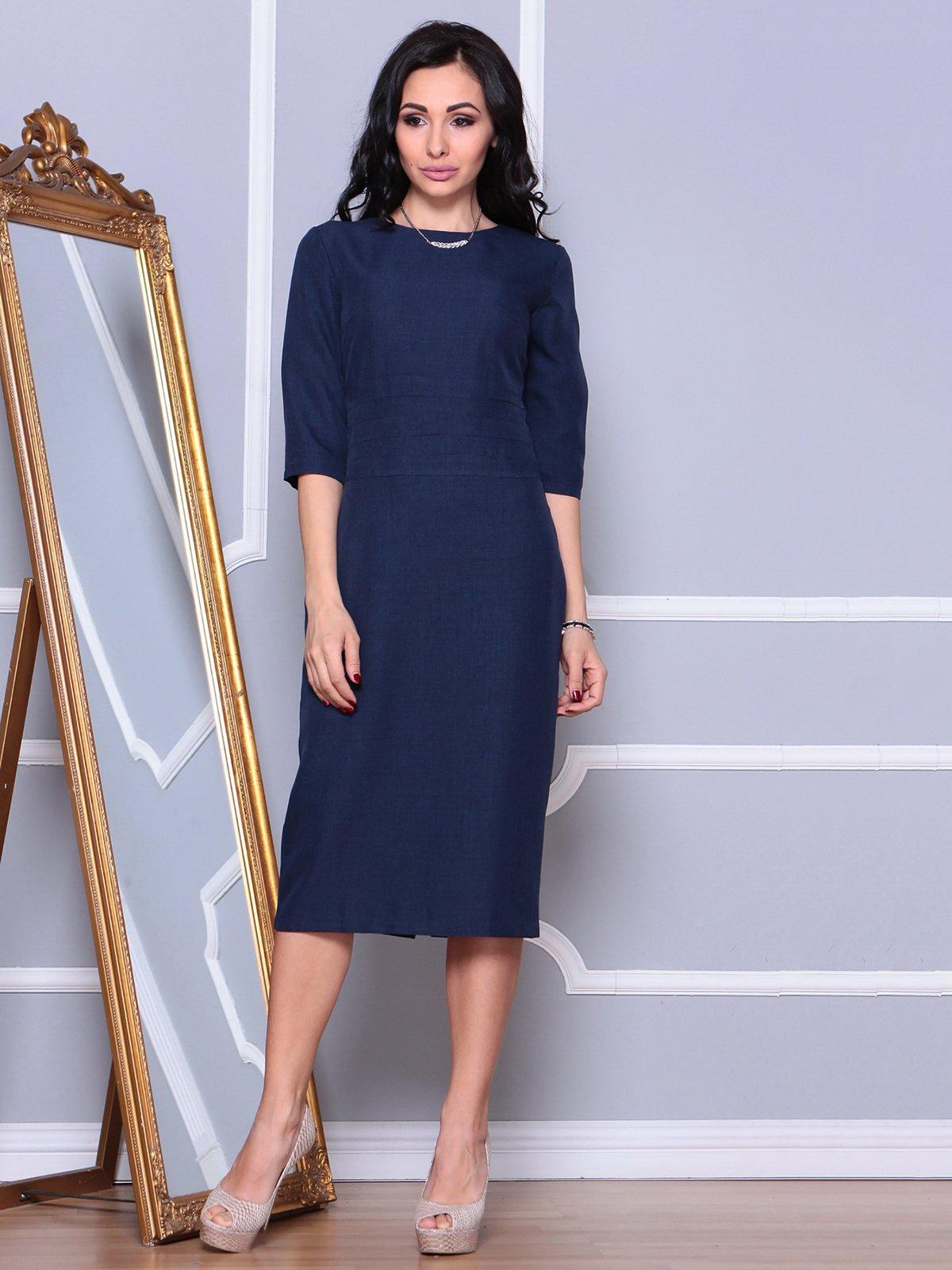 Платье темно-синее   3993184