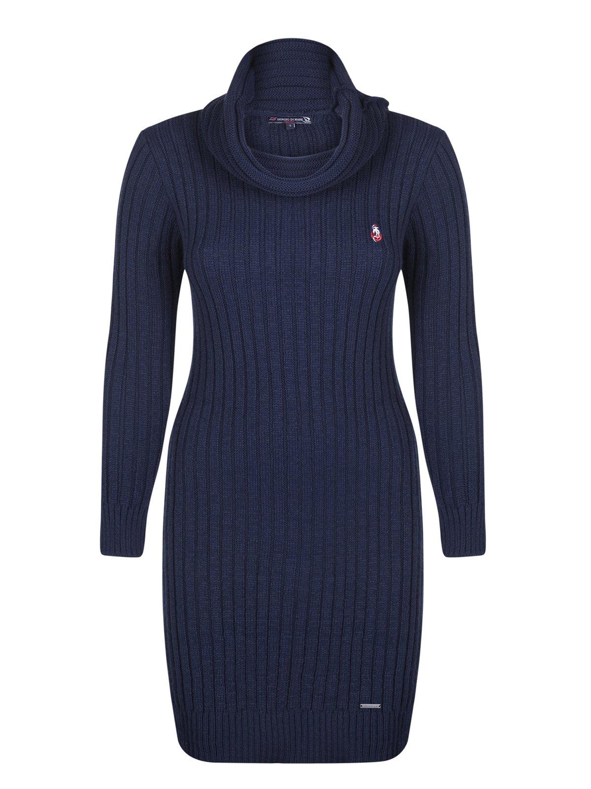 Платье темно-синее | 3989478