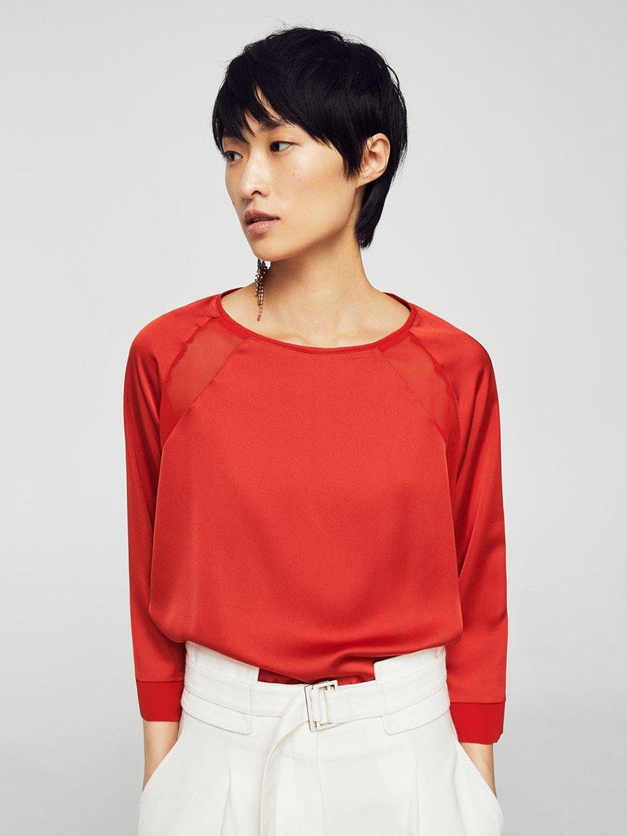 Блуза червона   3994330