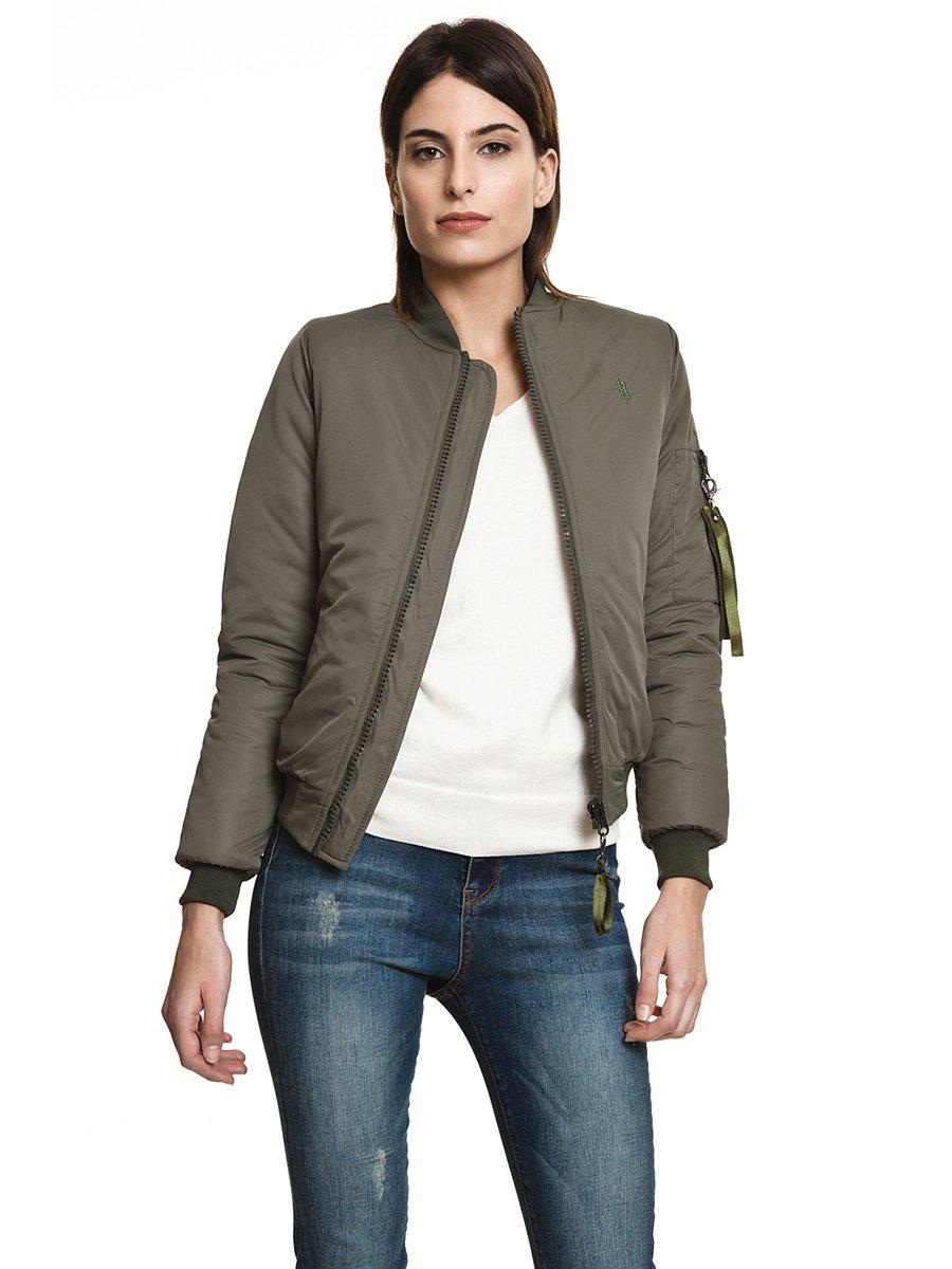 Куртка кольору хакі | 3994984
