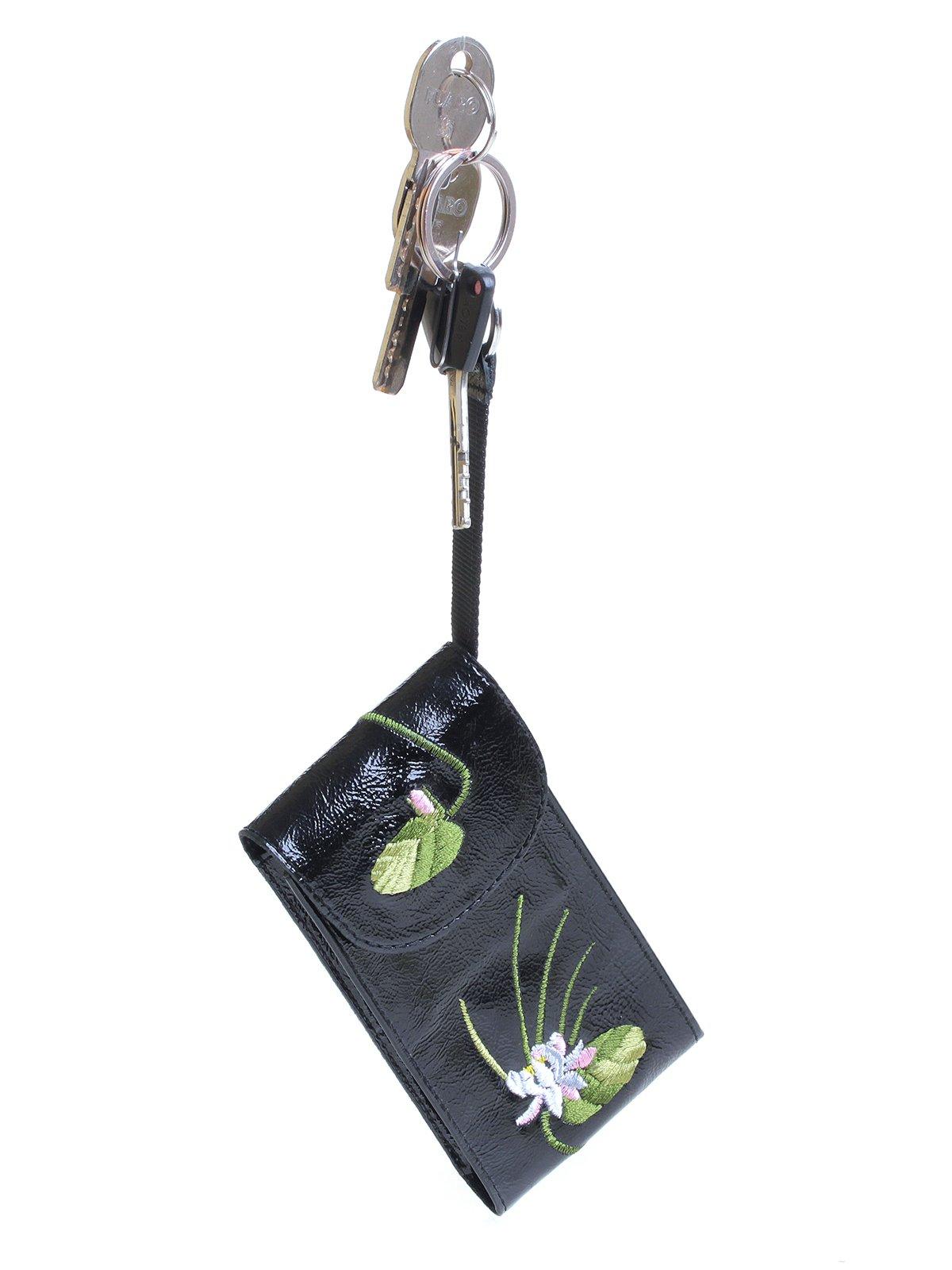 Ключница черная с вышивкой   3997139   фото 3