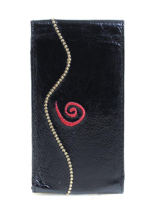 Ключница черная с вышивкой | 3997141 | фото 2