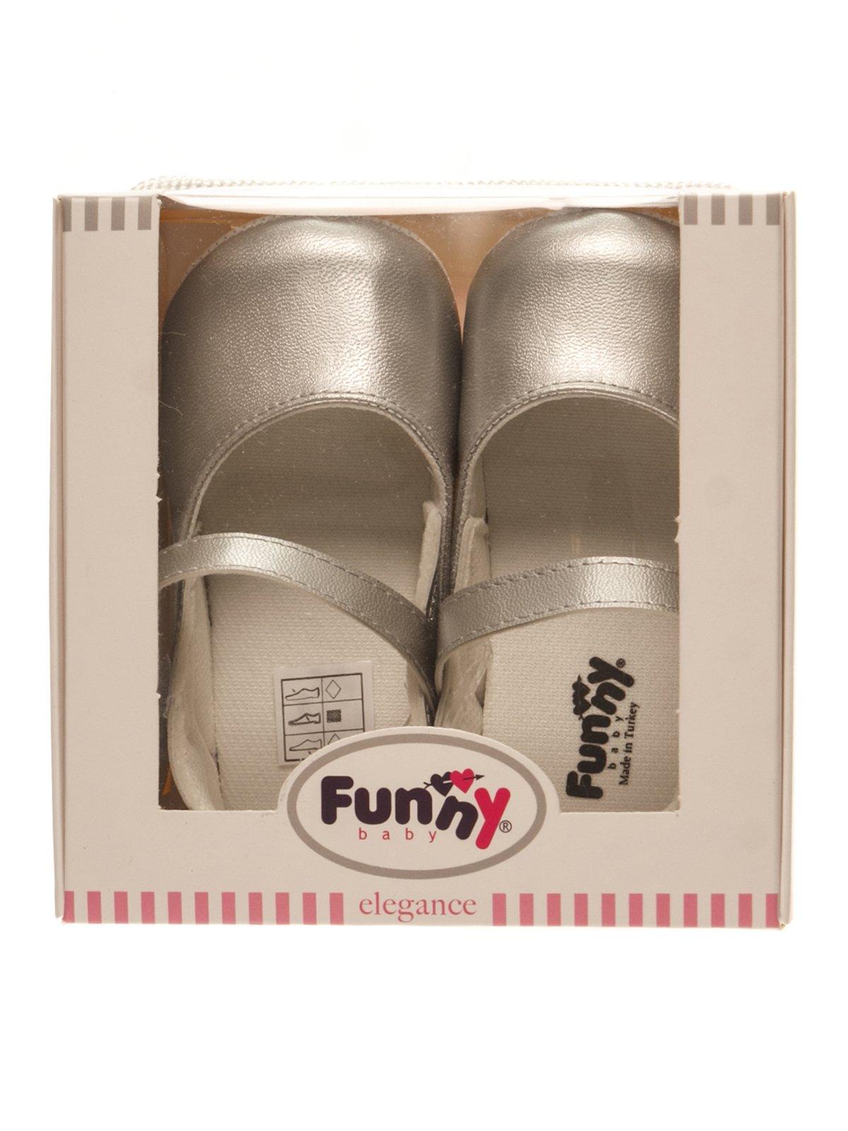 Пінетки-туфельки сірі | 3989439