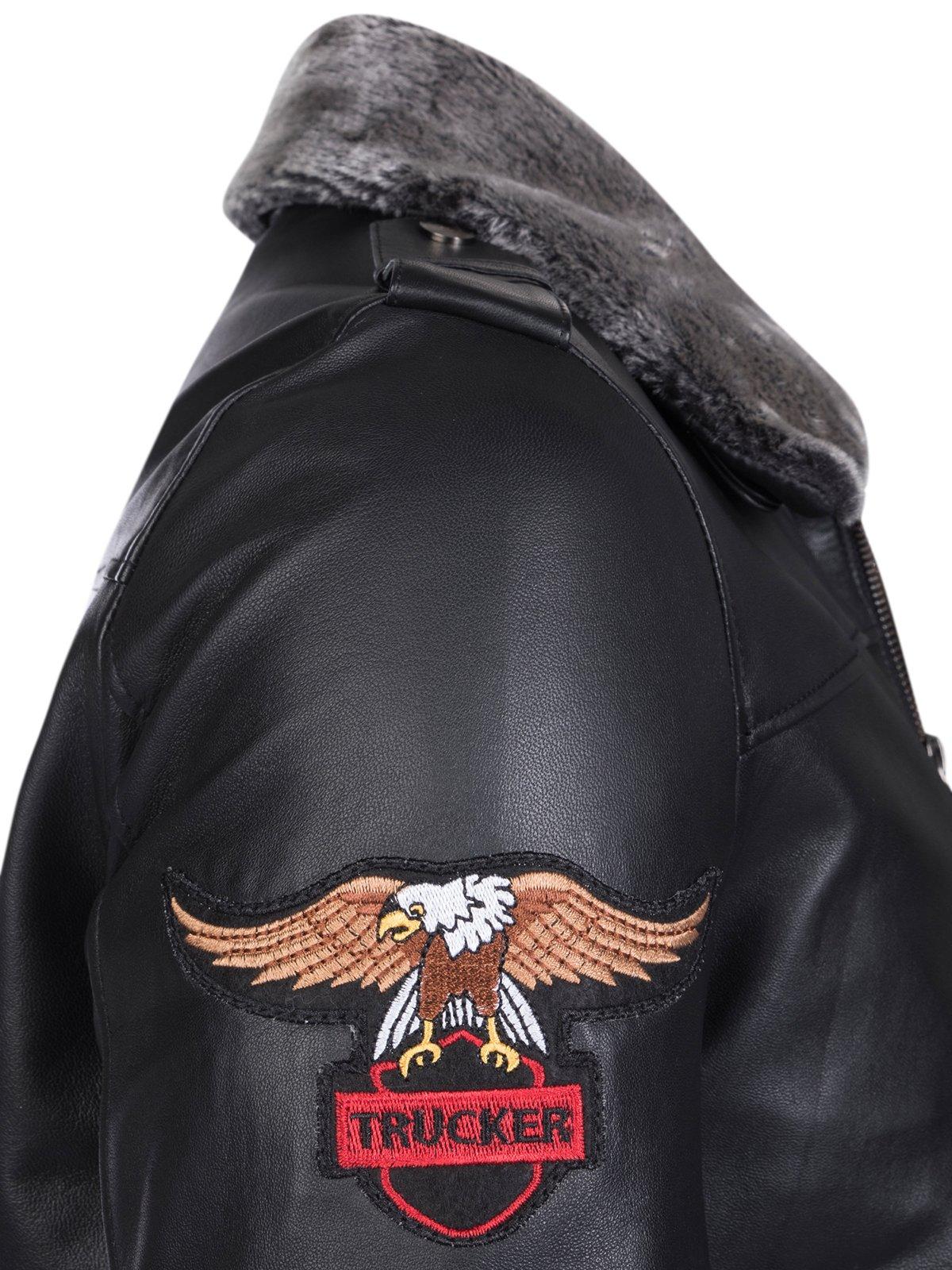 Куртка черная | 3993070 | фото 4
