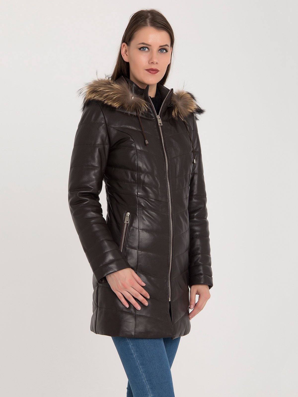 Пальто коричневое | 3993085 | фото 3