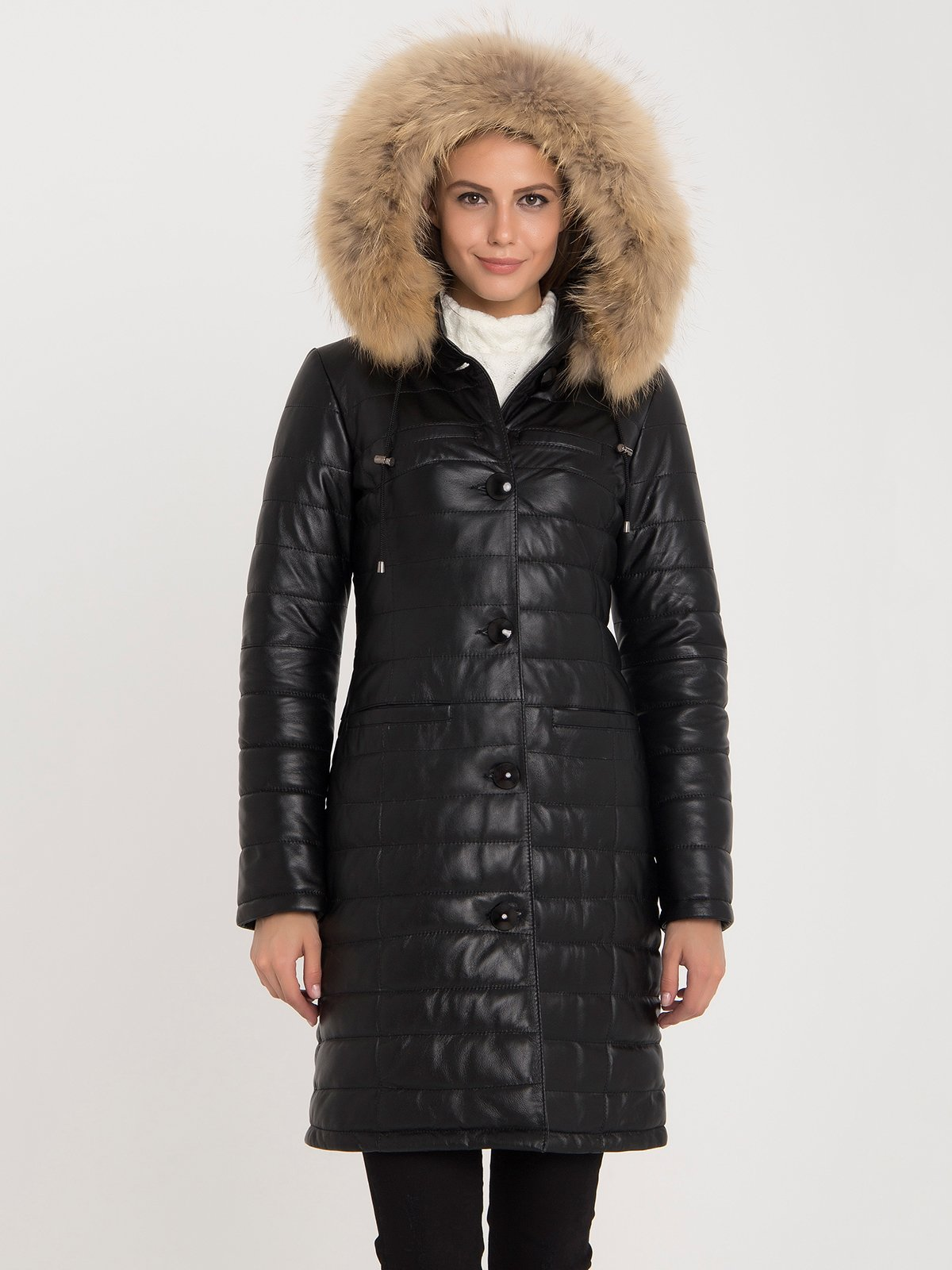 Пальто чорне | 3993131