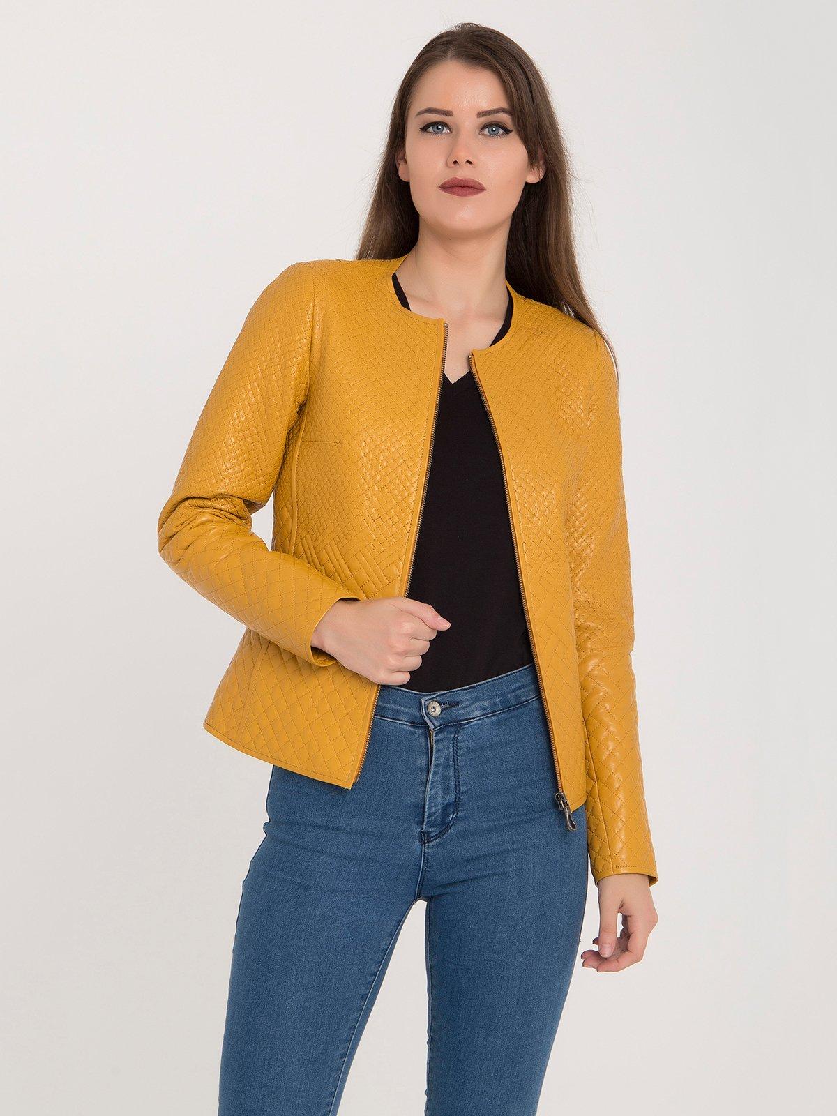 Куртка желтая | 3993145