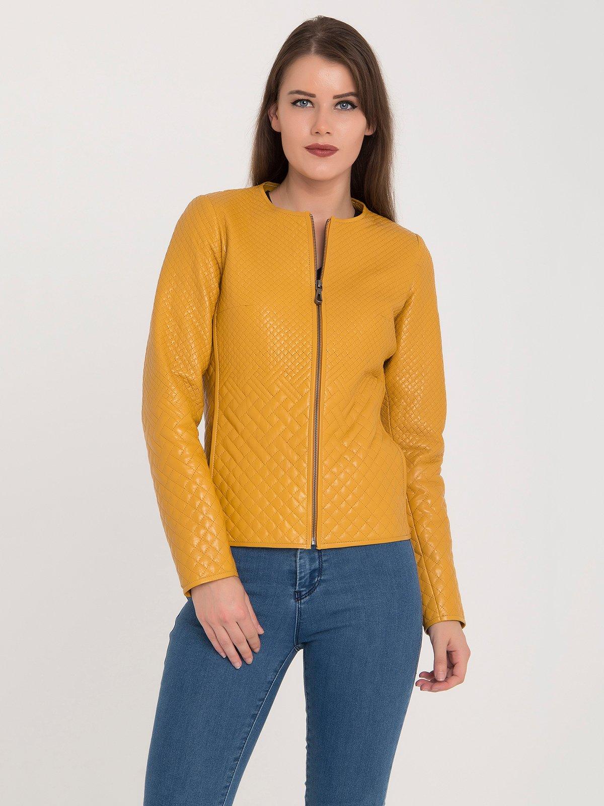 Куртка желтая | 3993145 | фото 2