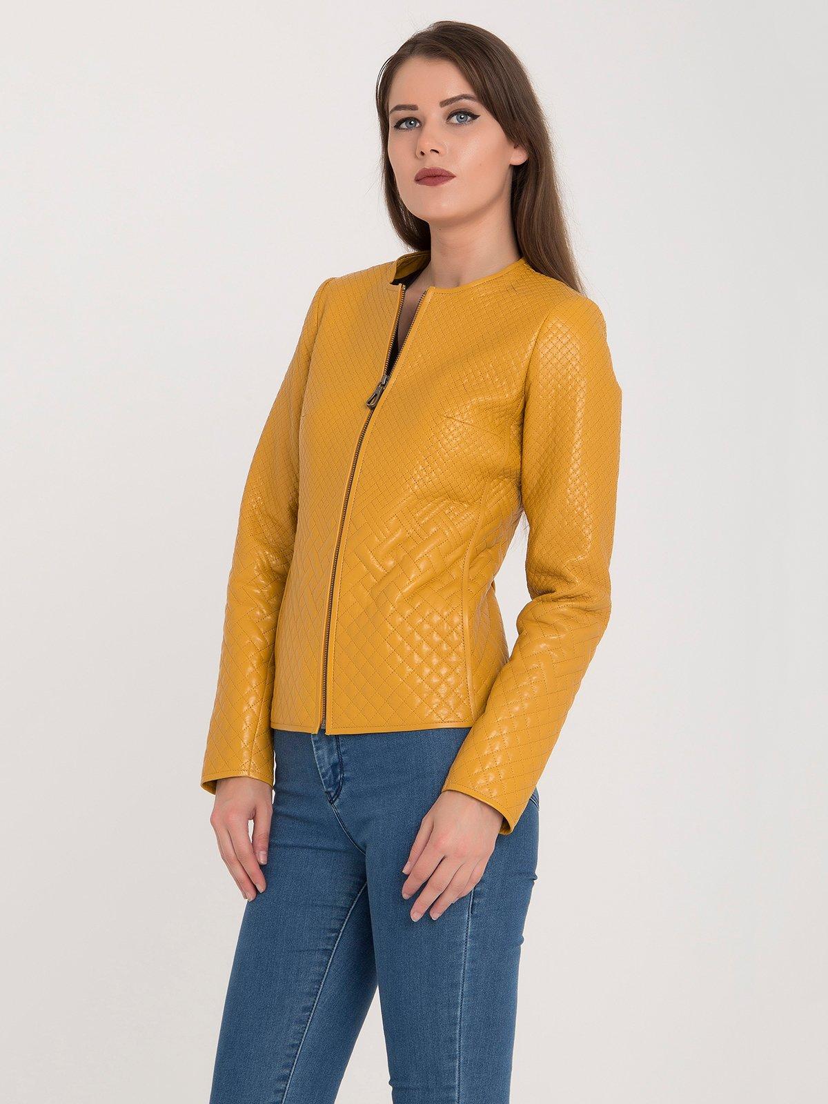 Куртка желтая | 3993145 | фото 3