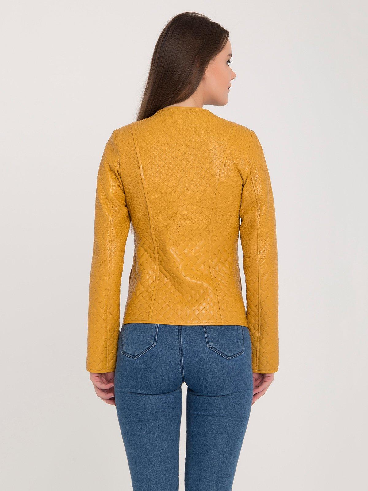 Куртка желтая | 3993145 | фото 5