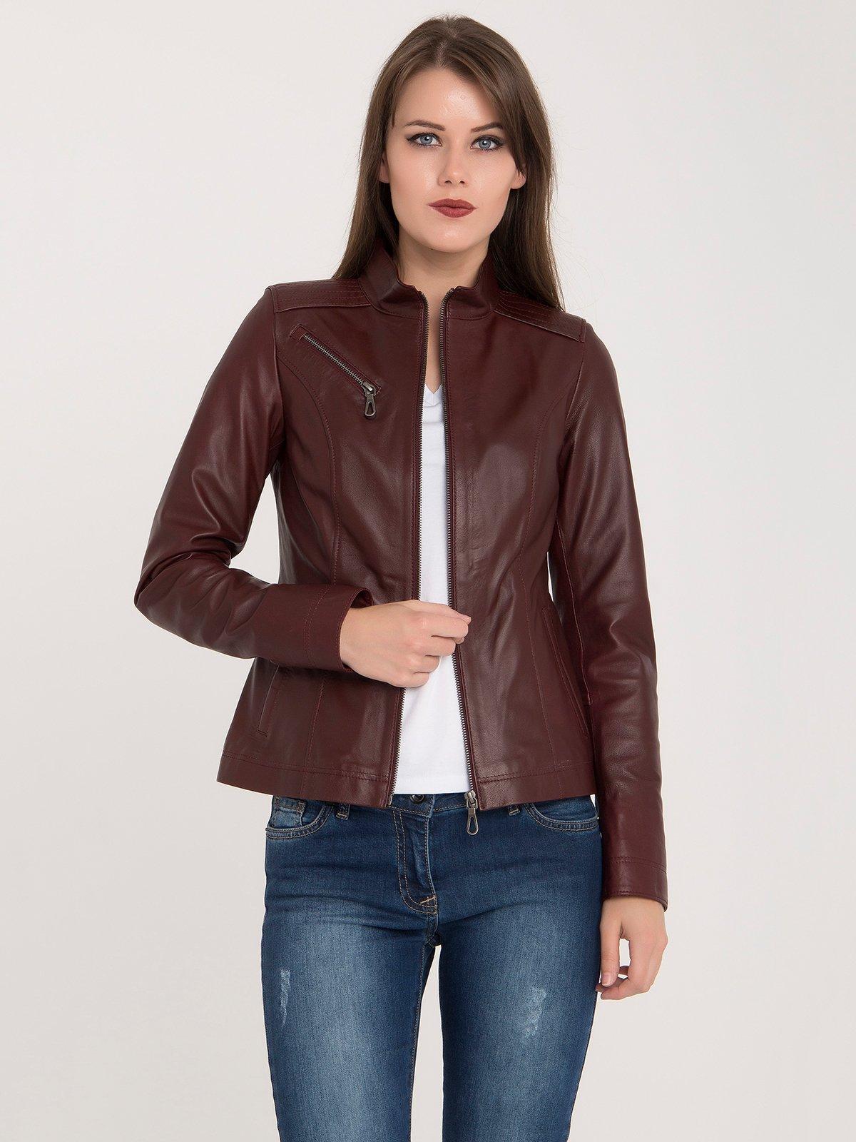 Куртка бордовая   3993154