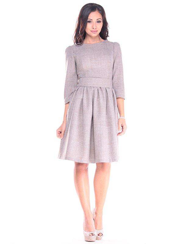 Платье цвета мокко   4002298