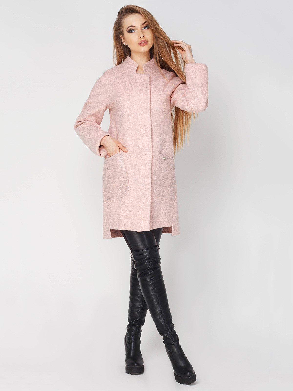 Пальто персикового кольору | 4003443