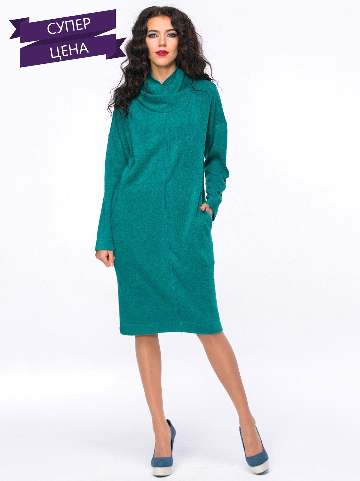 Платье изумрудного цвета | 2776262