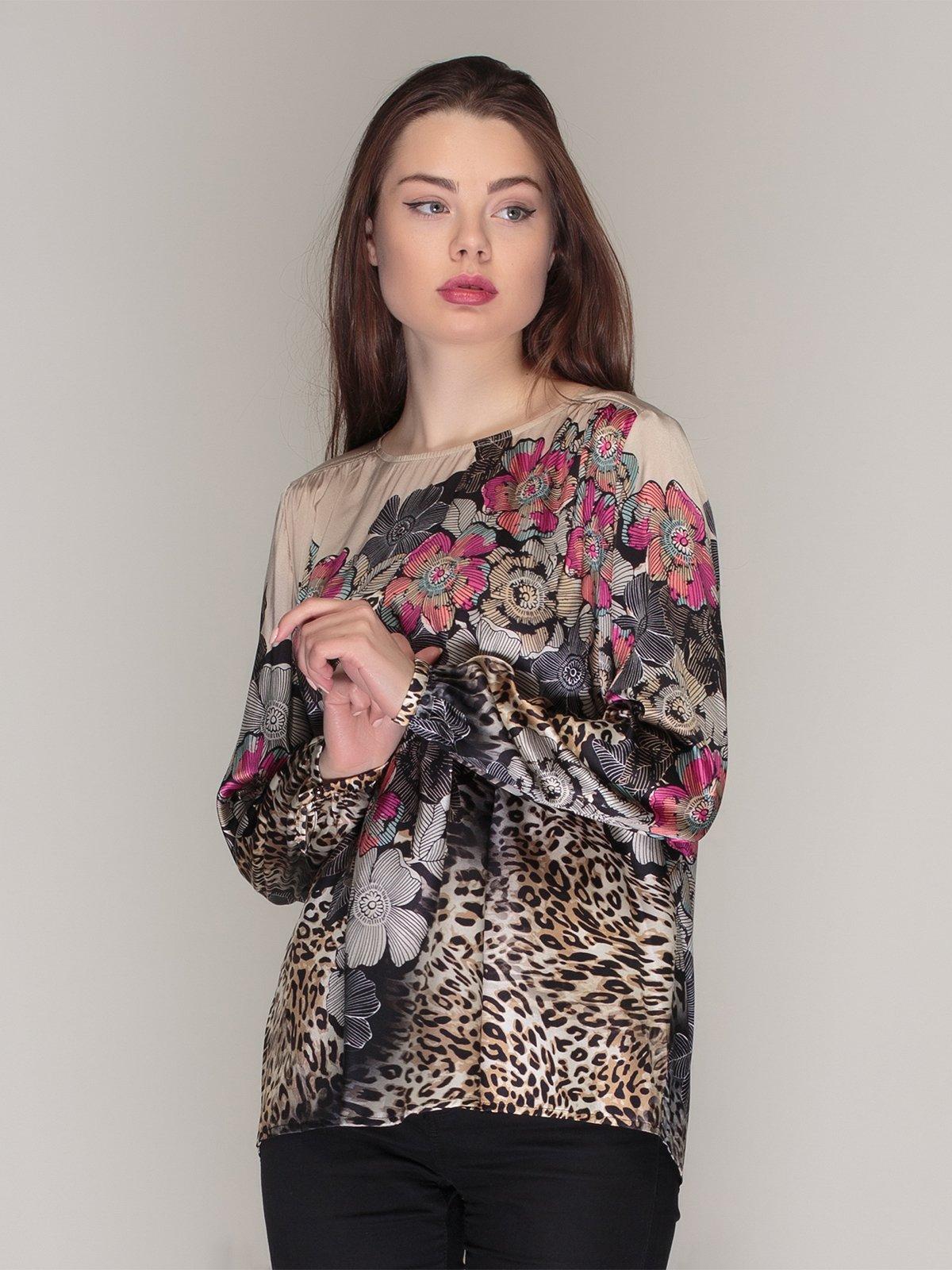 Блуза в принт | 4009653