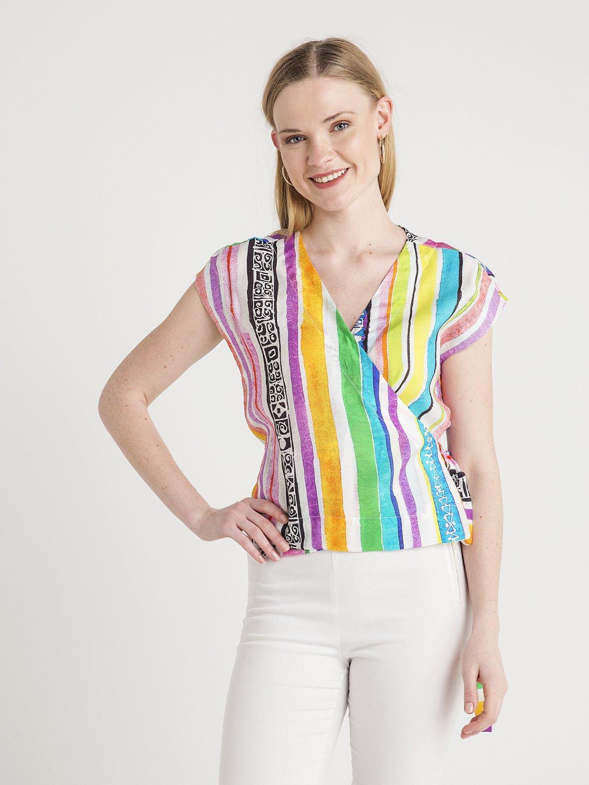 Блуза в смужку | 4012128