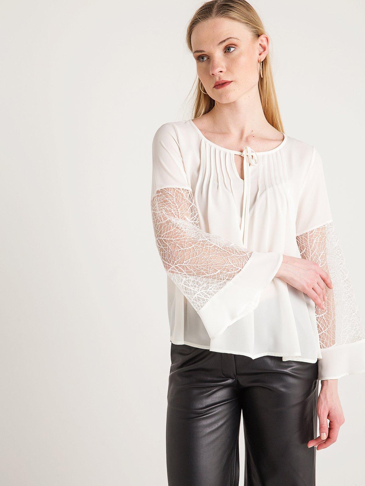 Блуза белая | 4012131