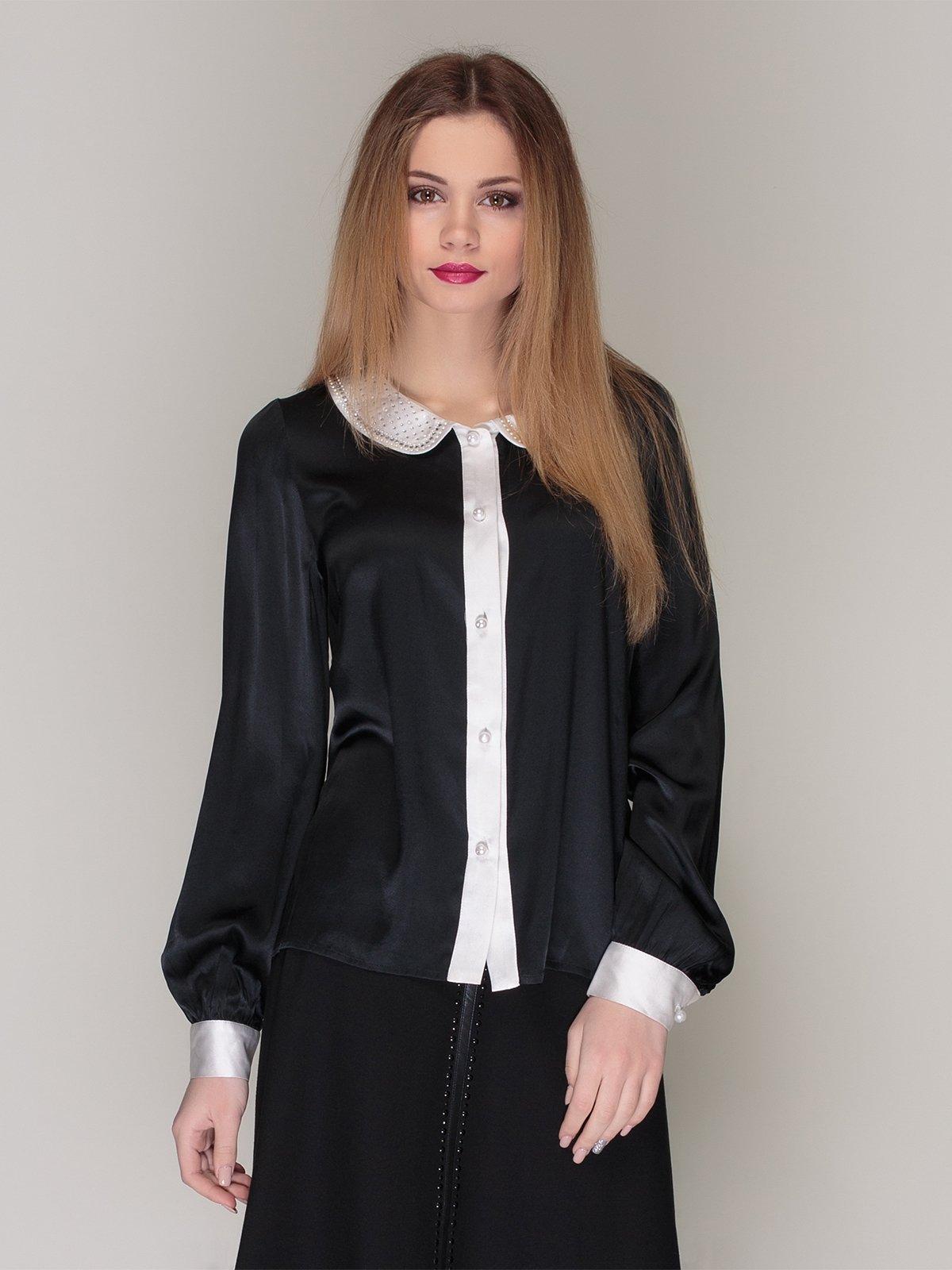 Блуза чорна | 4009651