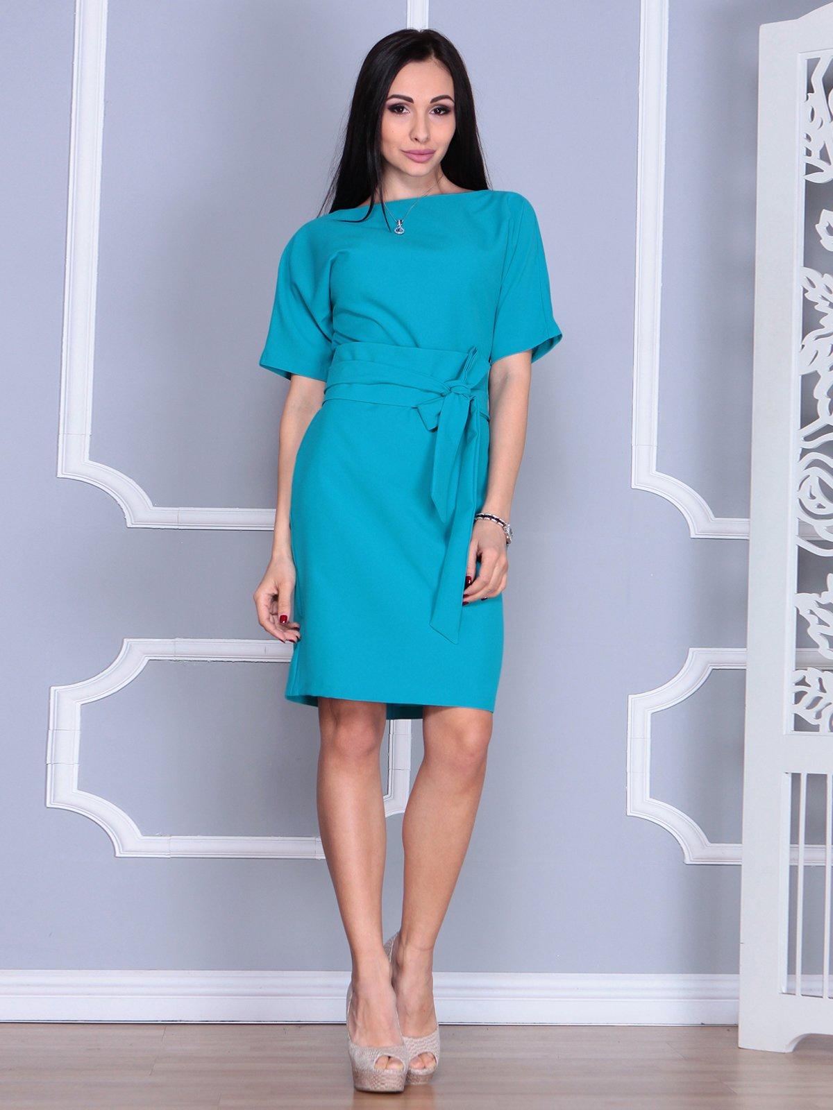 Платье бирюзовое   4012384