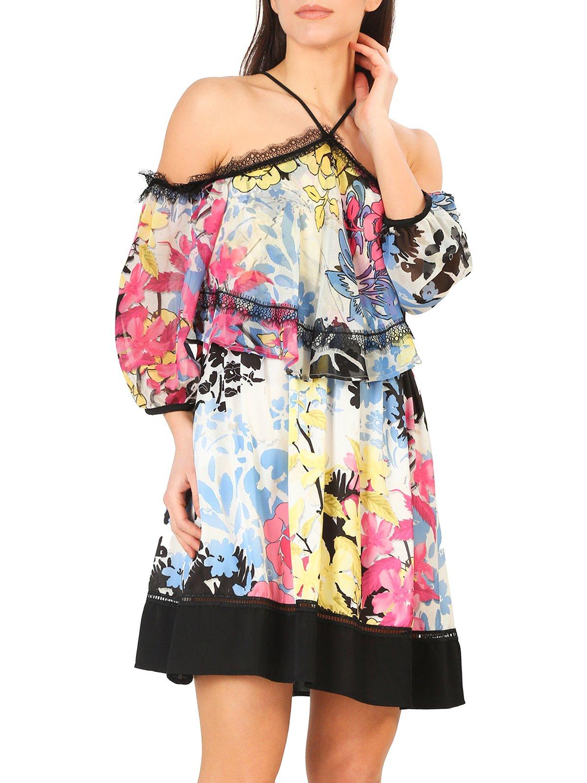 Платье в принт | 4011214