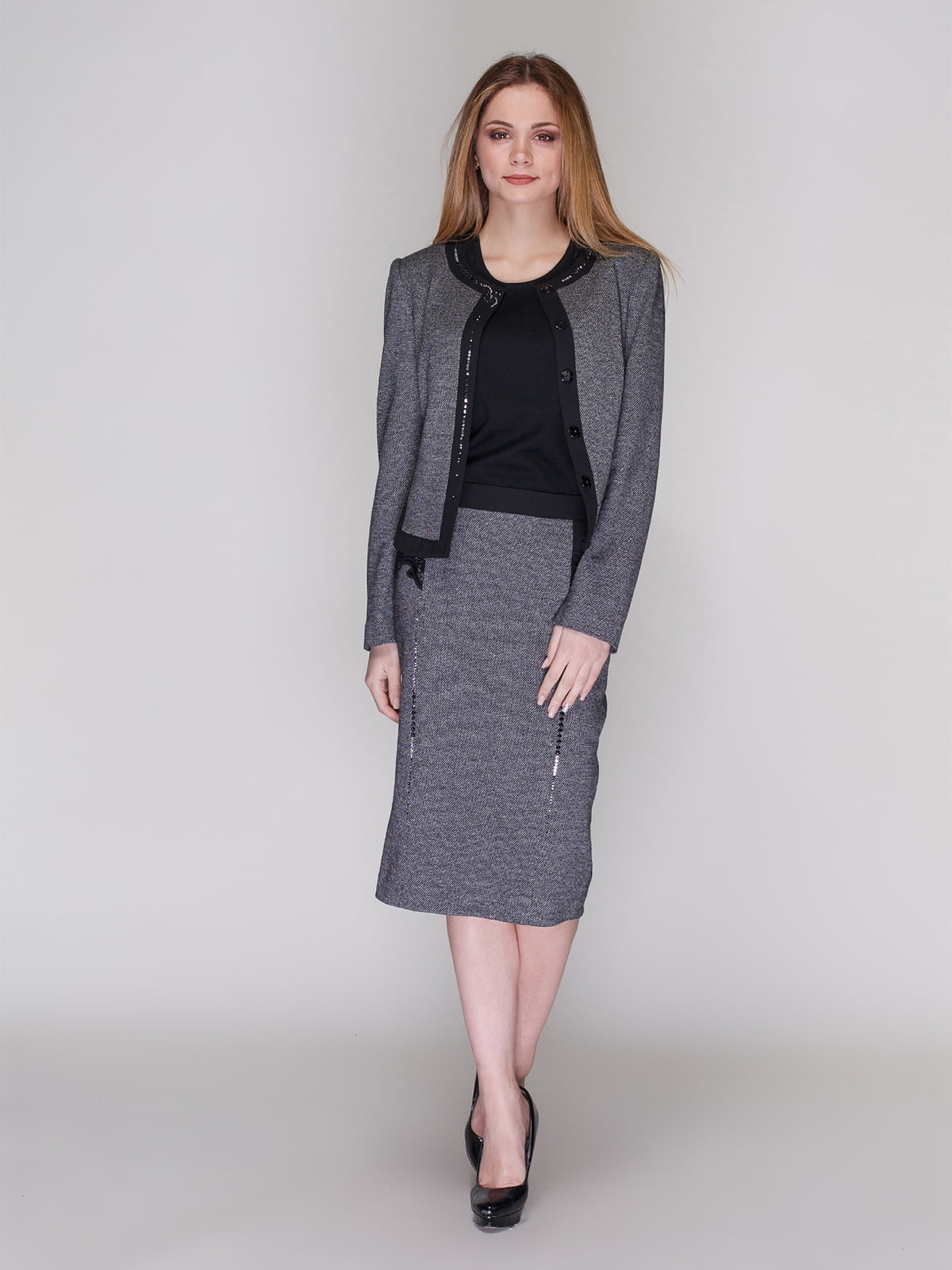 Комплект: жакет и юбка | 4009754