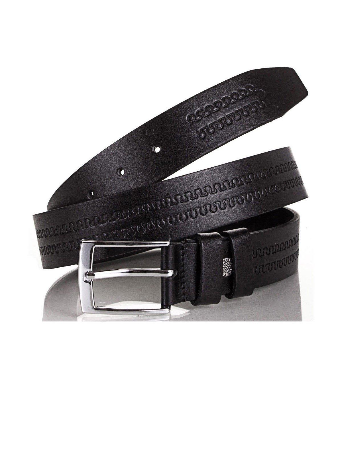 Ремінь чорний (115 см) | 4015576