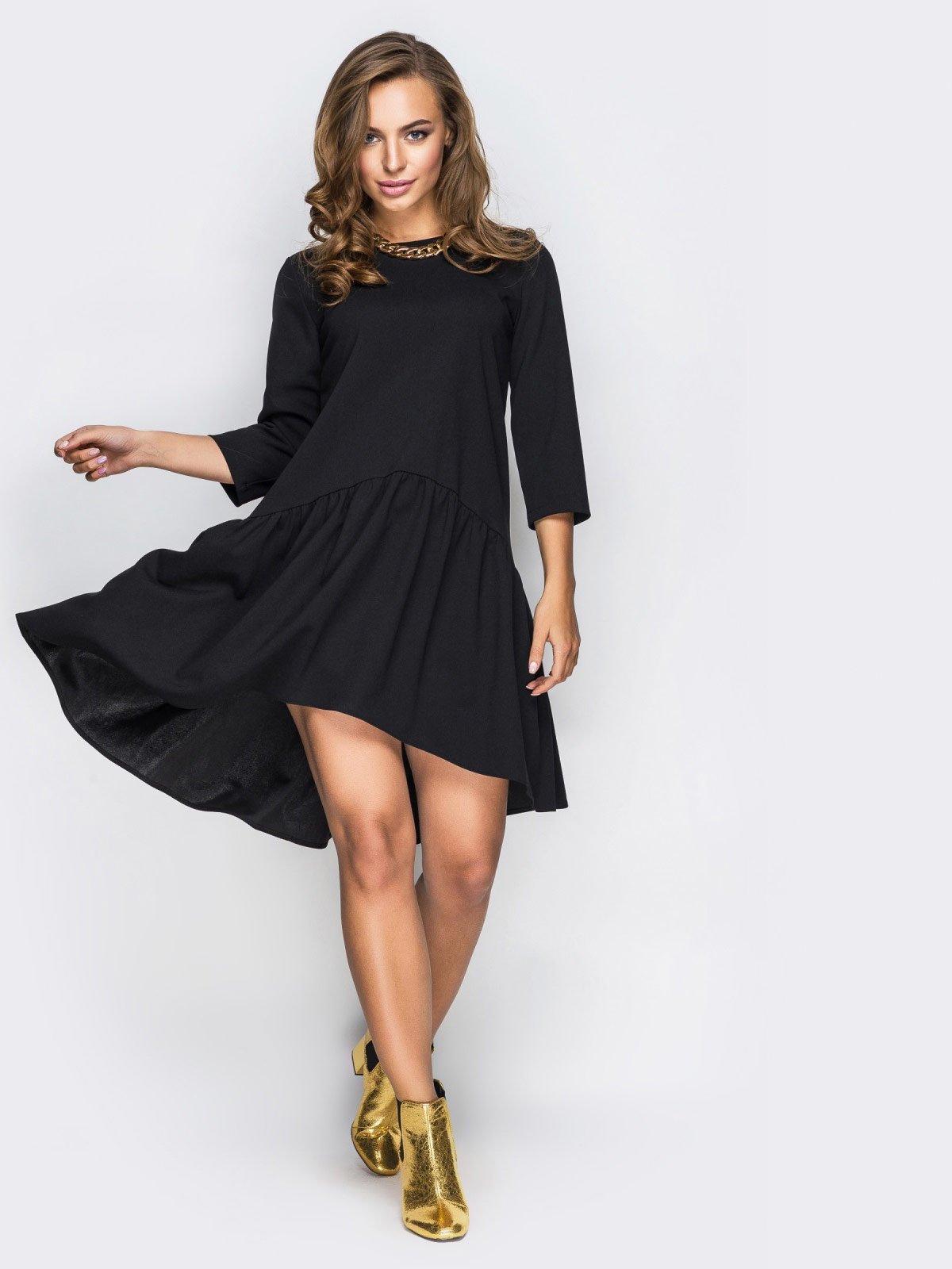 Платье черное   4030419