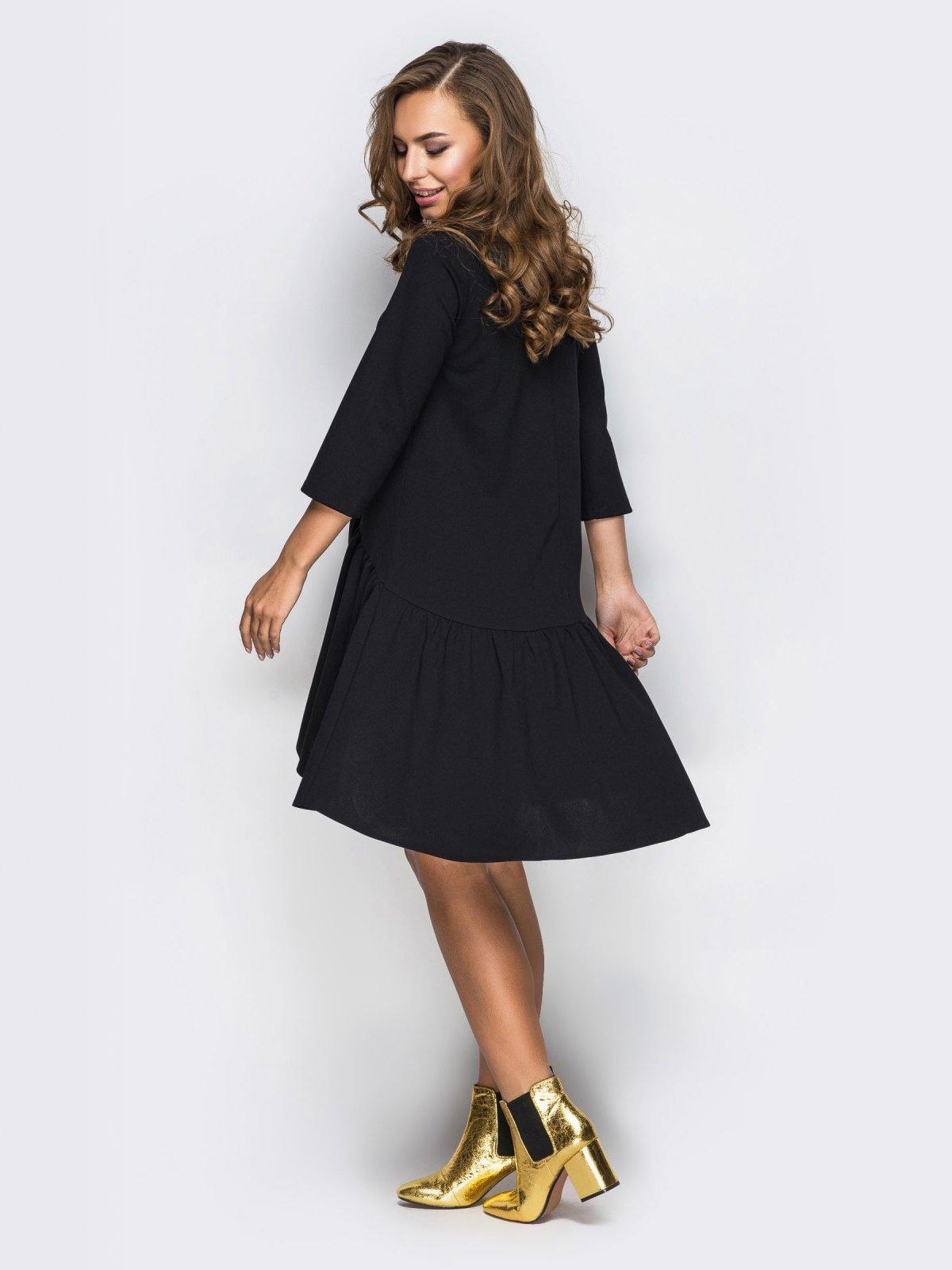 Платье черное   4030419   фото 2