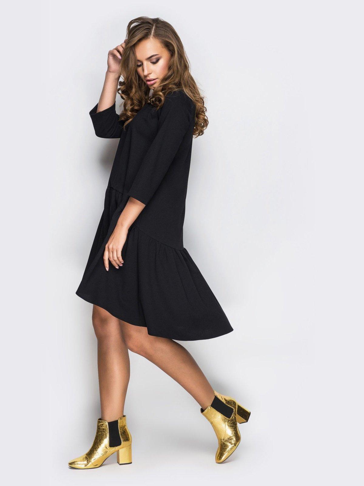 Платье черное   4030419   фото 4