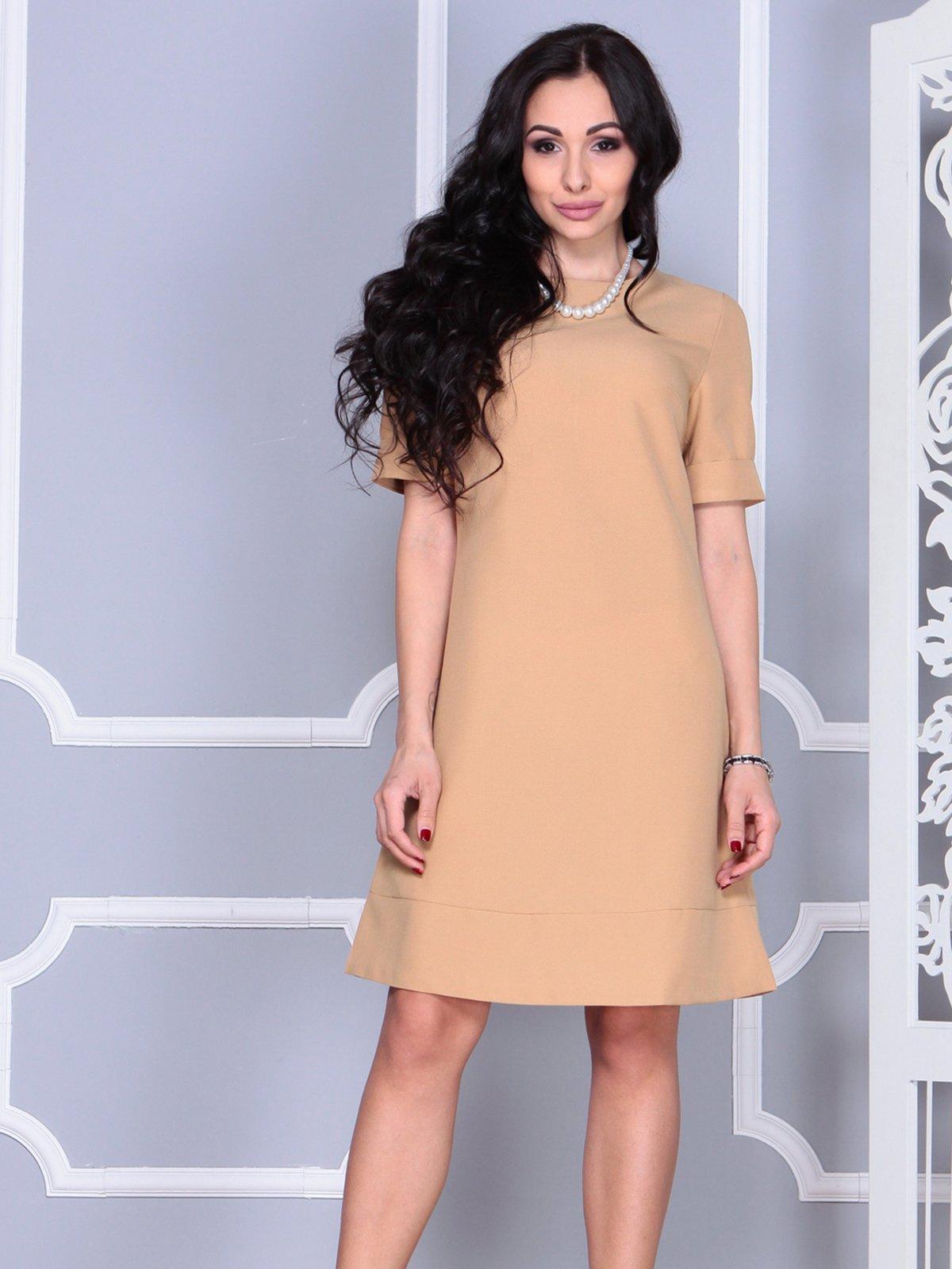 Платье бежевое | 4021194