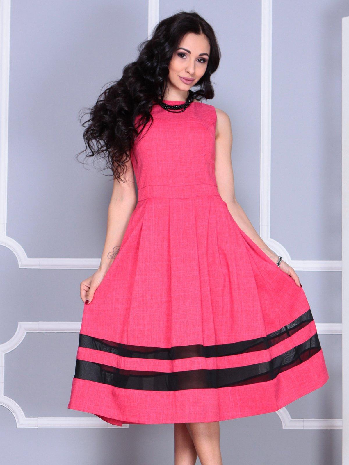 Платье красное   4028114   фото 5