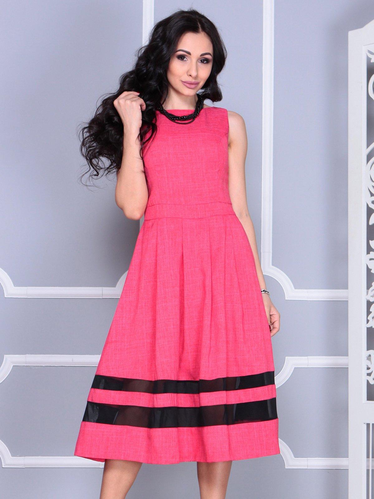 Платье красное   4028114   фото 6
