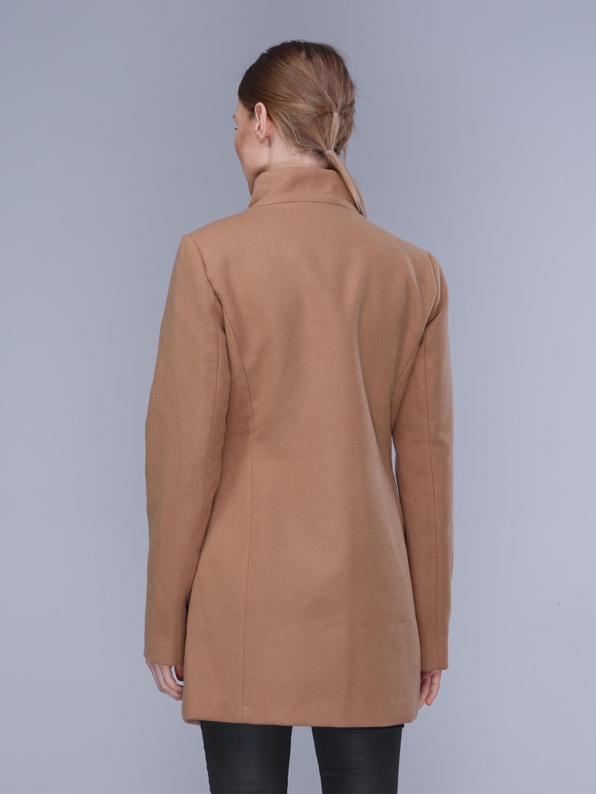 Пальто бежевое | 2992441 | фото 2