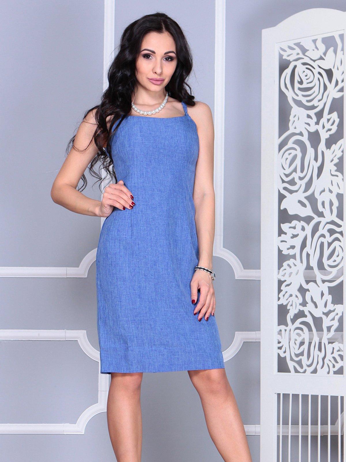 Платье синее   4021154
