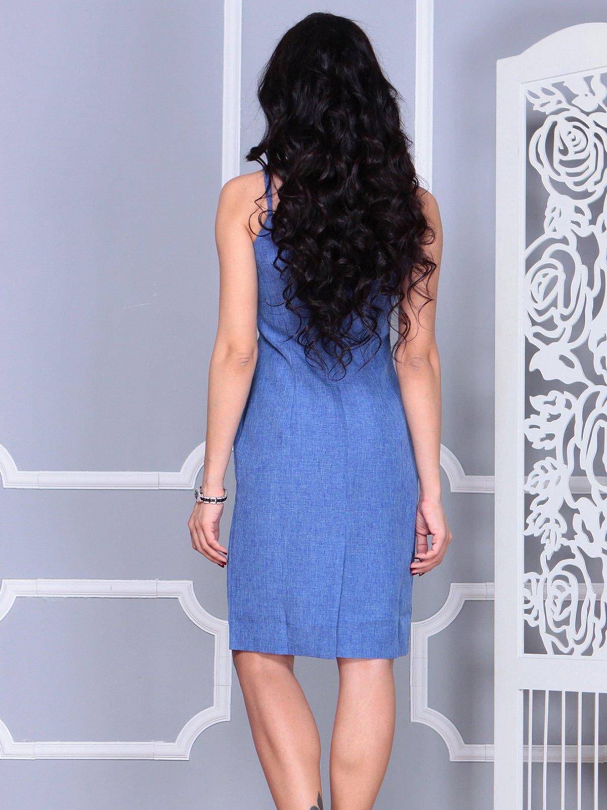 Платье синее   4021154   фото 2