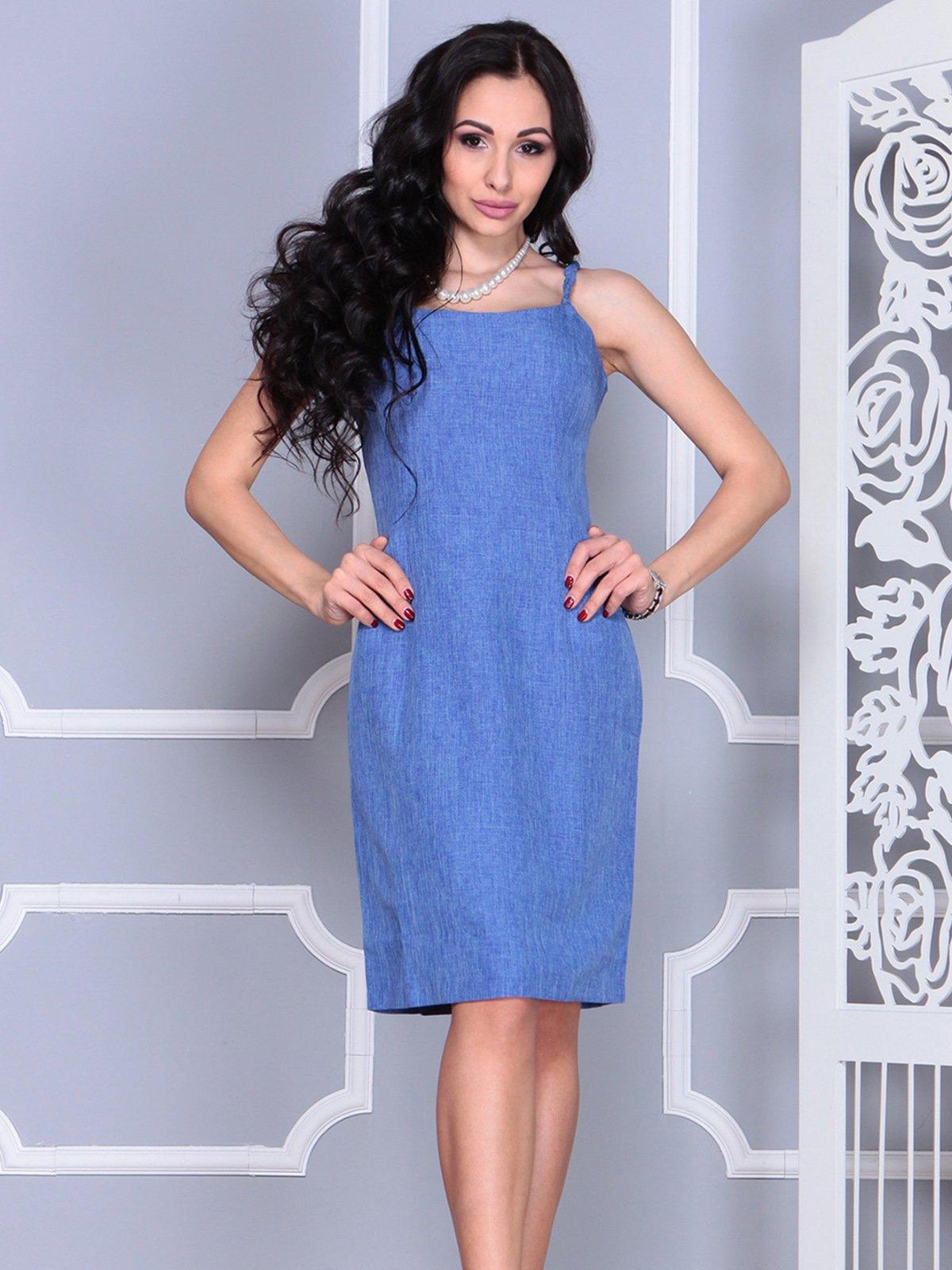 Платье синее   4021154   фото 3